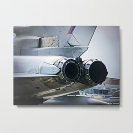 After-burners Metal Print