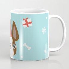 A dog's Christmas Mug