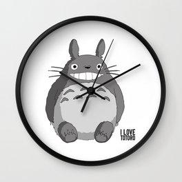 I Love Totoro Wall Clock