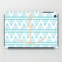 anchors iPad Cases featuring anchors by taylor st. claire