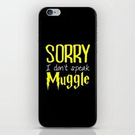 sorry i don't speak muggle. iPhone Skin