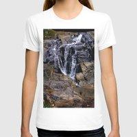 puerto rico T-shirts featuring Diego's Salcedo Waterfall Puerto Rico by Ricardo Patino
