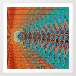 Color Vibrations Art Print