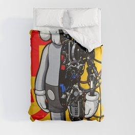 kaws art Comforters