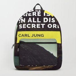 Carl Jung Order Chaos Backpack