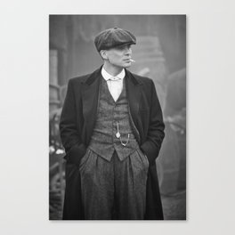 Tommy Shelby Print, Black and White Print, Tommy Shelby Poster, Legend Print, Classic Print, Film Poster, Peaky#Blinders, Gangster Canvas Print