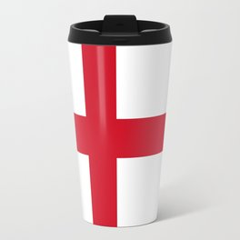 Flag of England (St. George's Cross) - Authentic version to scale and color Travel Mug