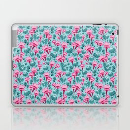 Pink & Teal Lovely Floral Laptop & iPad Skin