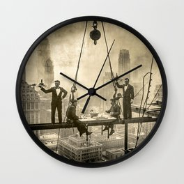 Sir, Where are your restrooms? Wall Clock