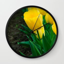 Standing from the crowd Wall Clock