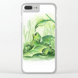 Sweet drop Clear iPhone Case