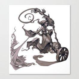 Segway Sorceress   Canvas Print