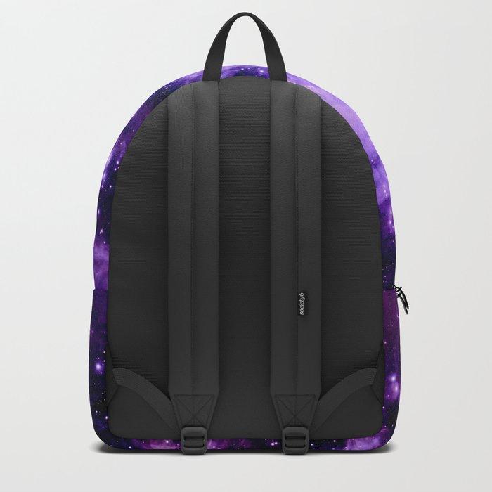 Orion nebUla. : Purple Galaxy Backpack