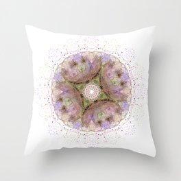 Floralesque Throw Pillow