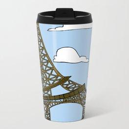 Gireffel Tower Metal Travel Mug