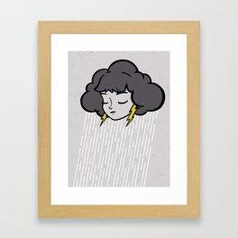 Rainy Days Framed Art Print