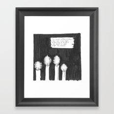 LIGHT (Advent 2015, Part6/7) Framed Art Print