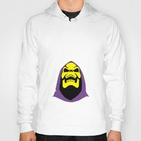 skeletor Hoodies featuring Skeletor Antlers by Iamzombieteeth Clothing