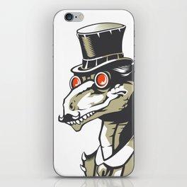 Dromeosaurs Industrial vector iPhone Skin