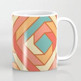 Square Flowers Coffee Mug
