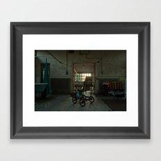 Jesus Wheels Framed Art Print