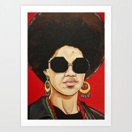 """Kathleen Cleaver """"Revolutionary"""" Art Print"""
