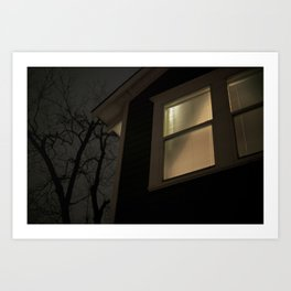 Night Window Art Print