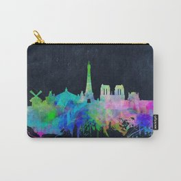 Paris skyline waterolor 2 Carry-All Pouch
