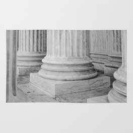 Columns at the US Supreme Court Rug