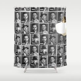 Mob Masses Shower Curtain