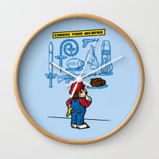 Weapon of Choice Wall Clock