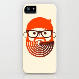 The Gradient Beard iPhone Case