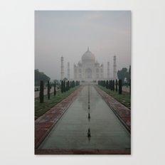 Taj dawn Canvas Print