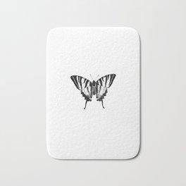 Minimalista borboleta 2 Bath Mat