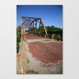 Route 66 - One Lane Bridge 2012 Canvas Print