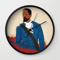 django Wall Clocks featuring Django by Anton Lundin