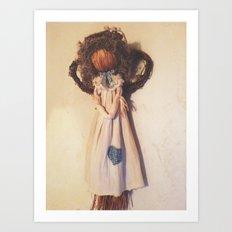 Handmade Angel Art Print