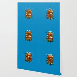 Eat my burger Wallpaper