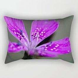 Lilac Bloom Rectangular Pillow