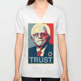 Trust - Senator Bernie Sanders Unisex V-Neck