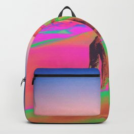 Psychedelic Sand Dunes 2 - Rainbow Backpack