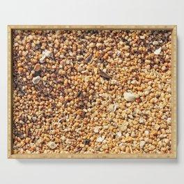 True grit - coarse sand Serving Tray