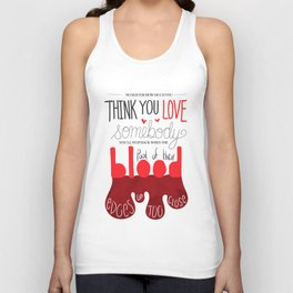 Invisible Monsters Unisex Tank Top
