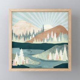 Autumn Sun Framed Mini Art Print