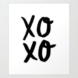Xo Hugs & Kisses Art Print