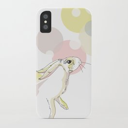Jumping Hare iPhone Case
