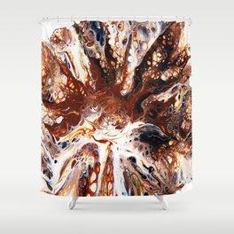 Deconstructed Caramel Sundae Shower Curtain