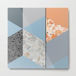 Terazzo Tiles Metal Print