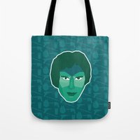 han solo Tote Bags featuring Han Solo by Kuki