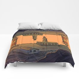 In Love with the Sea / Lighthouses Fuencaliente Comforters
